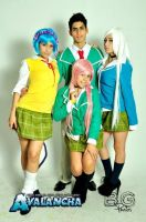 Rosario Vampire Cast Second by juliettebelle