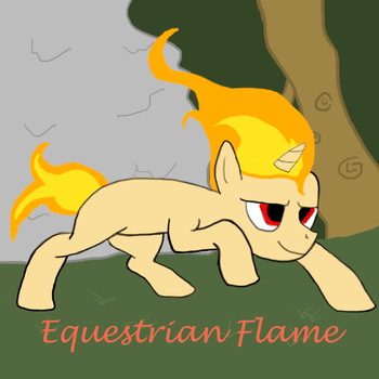 Equestrian Flame Cover Art by TLSpark