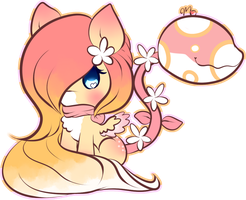 Peaches and Cream by Ambercatlucky2