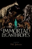 Immortal Lycanthropes - front cover by teaganwhite