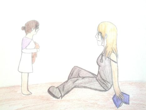 Samantha and Sydney Fluff Moment by Ask-CoDCayenne