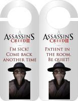 AC2 Doctor Door hanger by LuciRamms
