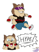 The Dog of Hype by SorcererLance