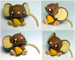 Transformice. Brown mouse by krikdushi