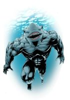 King Shark by BrianSoriano