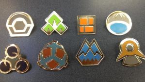 Pokemon Badges - Sinnoh - Generation 4 FOR SALE by pkmnbadges