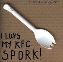 Mah KFC Spork XD by disturbed-angel