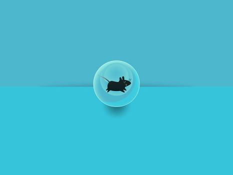 Xfce Glossy Mice Wallpaper by 4enzo