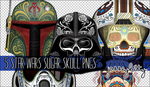 Star Wars Sugar Skull PNG Pack by silklungs