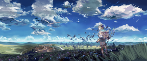 Atelier Firis - Wallpaper 3440x1440 by Shadow2810