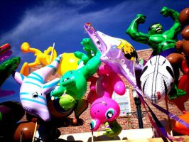 Range of Inflatables by Anabell