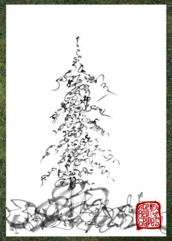 :Tree:calligraphy by Ace0fredspades