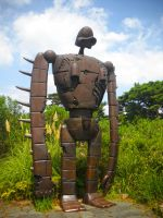 Ghibli Museum - Laputa Robot by MushroomRaccoon