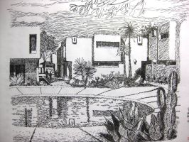 pen draing villa by wwei