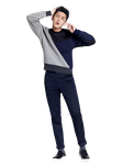 {PNG/Render #163} Yoo Ah In (Actor) by Larry1042k1