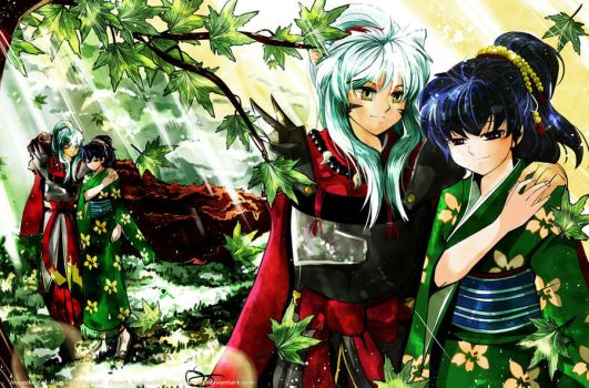 C: Inuyasha - With You by Qsan90