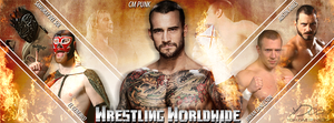 'Wrestling Worldwide' FB Cover by YeshuDave029