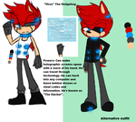 Virus the Hedgehog ref. (Art NOT done by me) by Sam-the-wolf147
