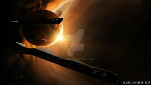 20140723 - Deep Space Exploration Ship by Wizard76