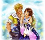Gift : Tidus x Yuna by pink-crest