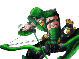 Green Arrow by MikeES