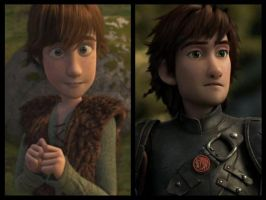 Hiccup's amazing metamorphosis by MellieBerries