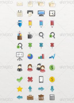 Office Icons Pack by etnocad