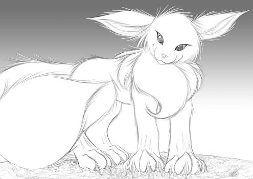 Eevee by StampyDragon