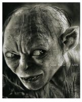 gollum by jovee