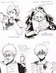 Nordics and Yaoi by JazzLassie6020