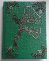 Steampunk Butterfly Sketchbook by LevelUpGraphix