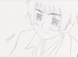Japan from Hetalia :) by xYunex
