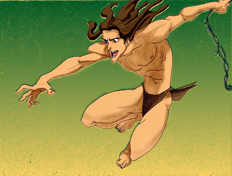 Tarzan Finish by ThatTMNTchick