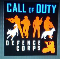 Black Ops II Emblem: Call of Duty Defense Corps by Antimatter-Radius