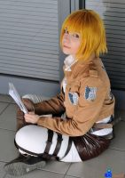 Armin - Reading by Bexxin