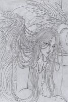 LoNELY AngeL by lyanora
