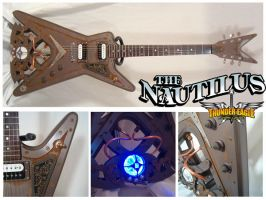 The Nautilus Steampunk Guitar by SpazedOut
