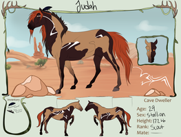 TWW|Judah|Scout|Cave Mustang by johnmowfive