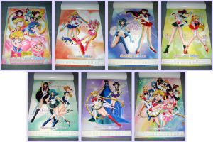 Sailormoon World 2002 Calendar by kuroitenshi13