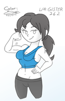 Wii Fit Trainer (Collab with Gilster262) by KingDvo