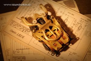 Steampunk computer mouse by steamworker