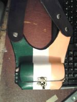 Irish flag cell phone holster by howardhowitzer
