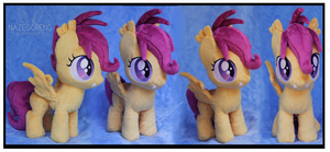 Commission: Scootabat Custom Plush by Nazegoreng