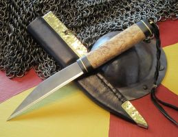 Masur Birch Seax 'art' by sgainbrachta