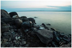 Rocky Lakeside by ThisWomanWanders