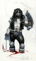 LOBO commission Lucca comics 20011 by simonebianchi
