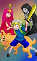 Adventure Time:Finn and Jake!!! by yukisnishika