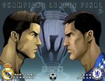 Champions League Final (alt) Ronaldo and Hazard by phil-cho