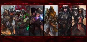 Diablo 3: Classes by Holyknight3000
