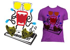 Music drives us insane T shirt by arthurjacobs